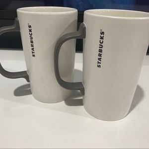 Starbucks coffee mugs set of 2